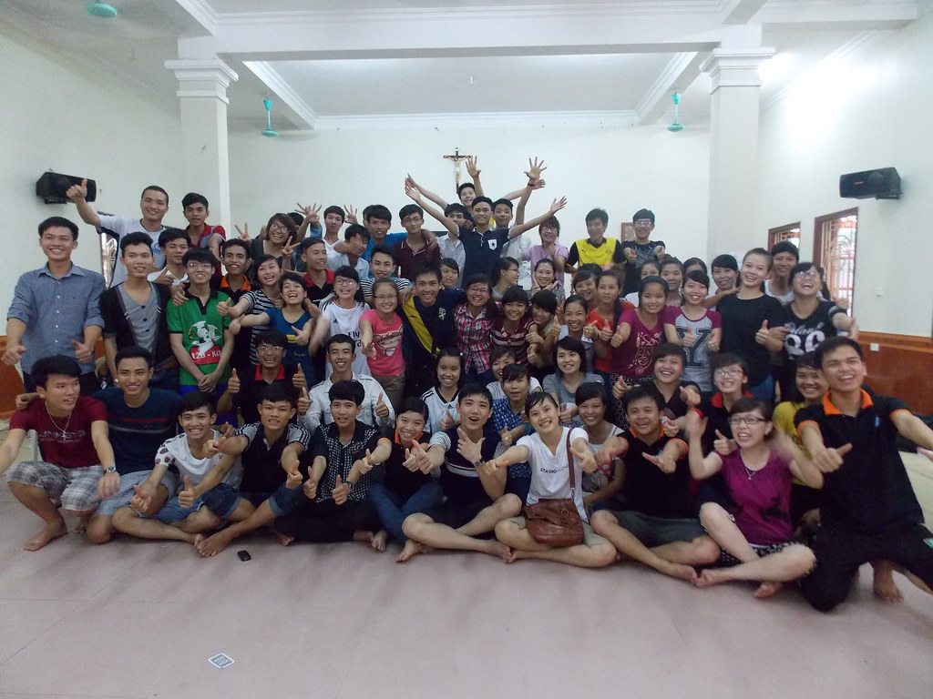 Toàn cảnh chương trình Tiếp Sức Mùa Thi 2014 - SVCG Phát Diệm