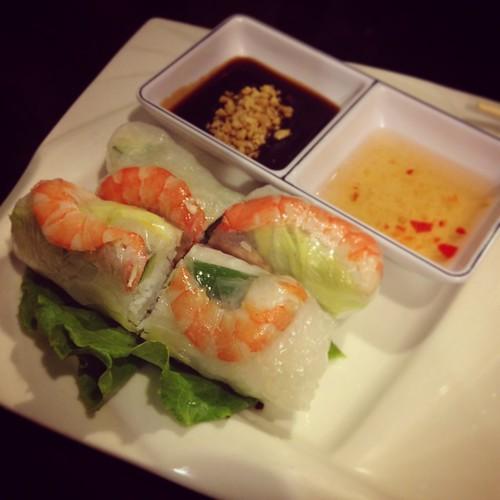 Vietnam cuisine-生春捲