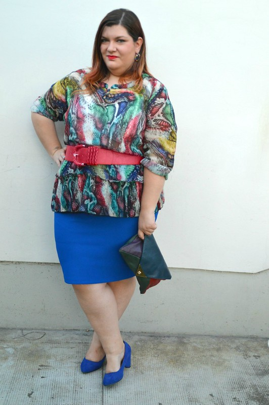 Outfit rosso e blu (7)