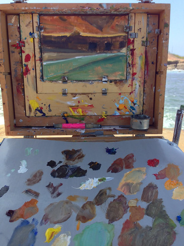 Painting at Cabrillo