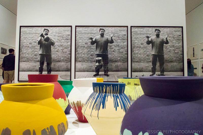 Han Dynasty Urn Ai Wei Wei Brooklyn Museum