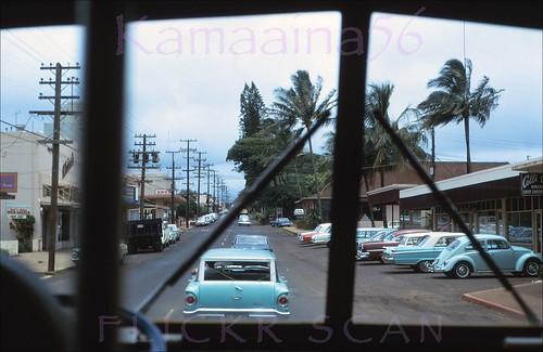 hawaii slide kauai 1960s kress lihue driversview
