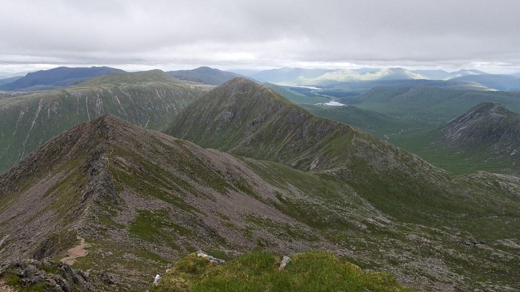 Glas Bheinn Mhor, the Black Mount and Loch Dochard
