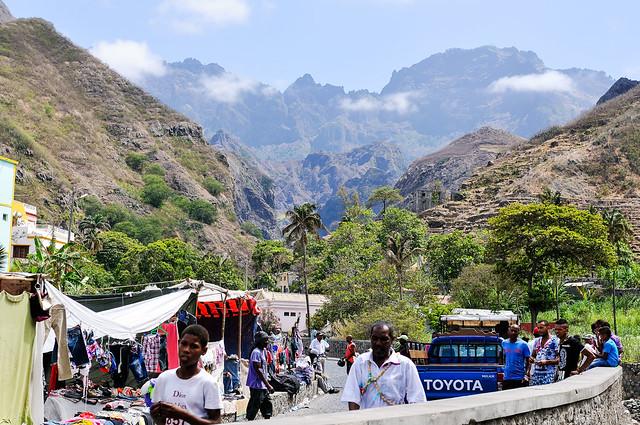 Vila das Pombas (Santo Antão island, Cabo Verde)