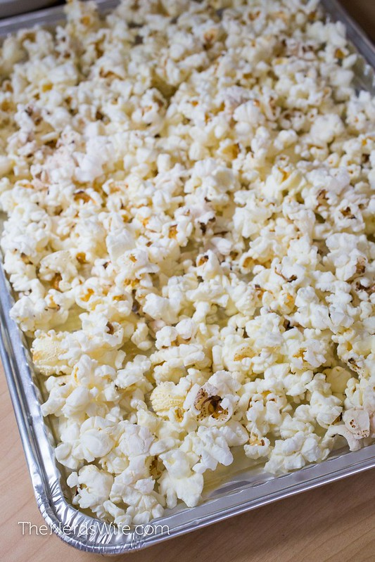 Firecracker Popcorn in a Pan