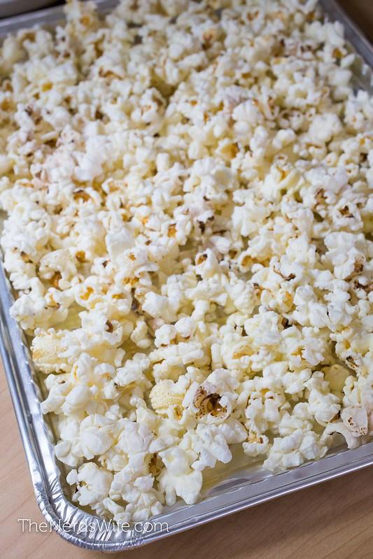 Firecracker Popcorn in a Pan
