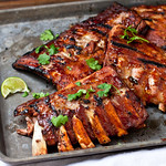 Margarita-Glazed Baby Back Ribs