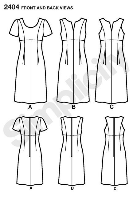 Simplicity 2404 - Dress Pattern