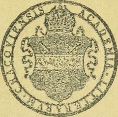 """Image from page 360 of """"Bulletin international de l'Académie des sciences de Cracovie. Comptes rendus des séances de l'année ... = Anzeiger der Akademie der Wissenschaften in Krakau"""" (1900)"""