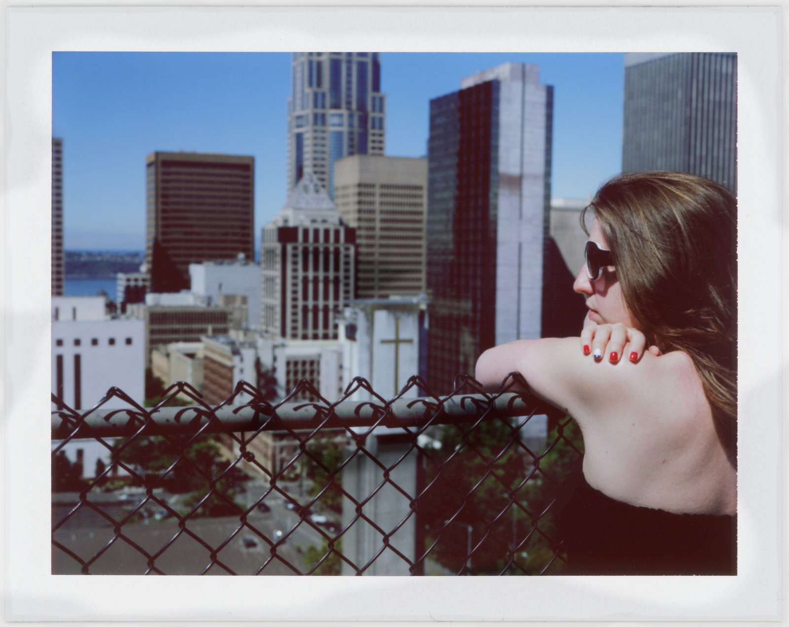 "Image titled ""Ashlyn, Apartment Rooftop, Seattle."""