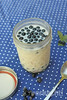 Blaubeer Overnight Oats