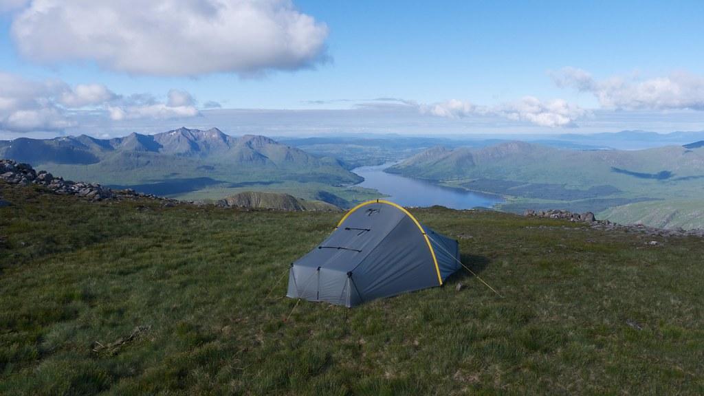Camping on Ben Starav