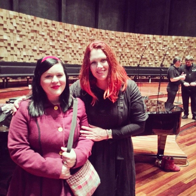 Teenage dream unlocked! Sang in a workshop with @clarebowditch as part of @festofvoices. Even get to sing on stage tonight!