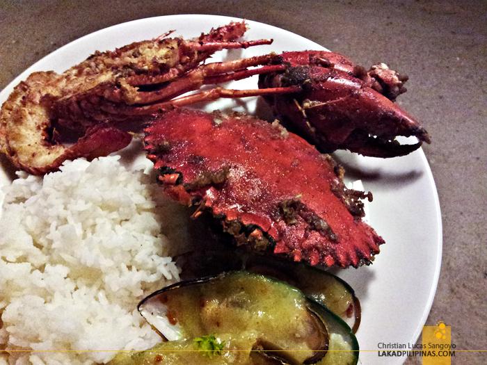 Seafood Beach Buffet at Two Seasons Coron