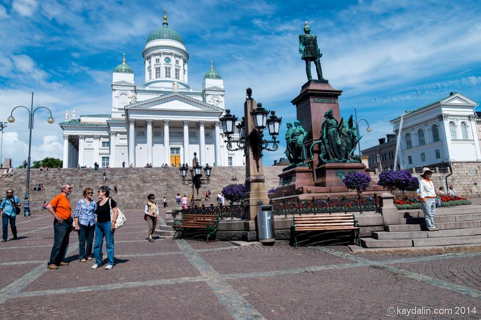памятник Александру II Хельсинки