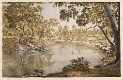 005-Australian landscapes -1860- Eugen von Guerard- Universität Tübingen