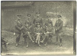 Officers of 5 Australian Field Ambulance, February 1918 (2)