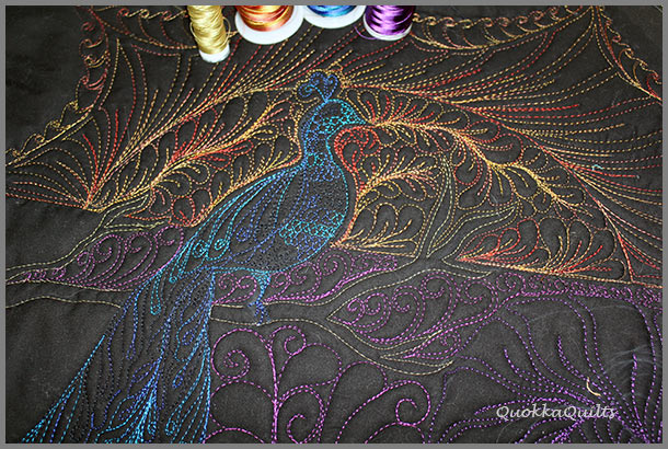 featherworkshoppeacockdetail