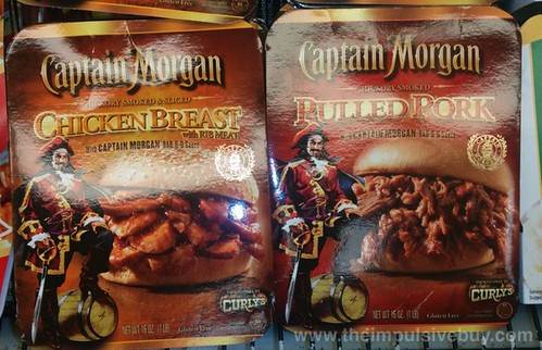 Captain Morgan Pulled Pork and Chicken Breast