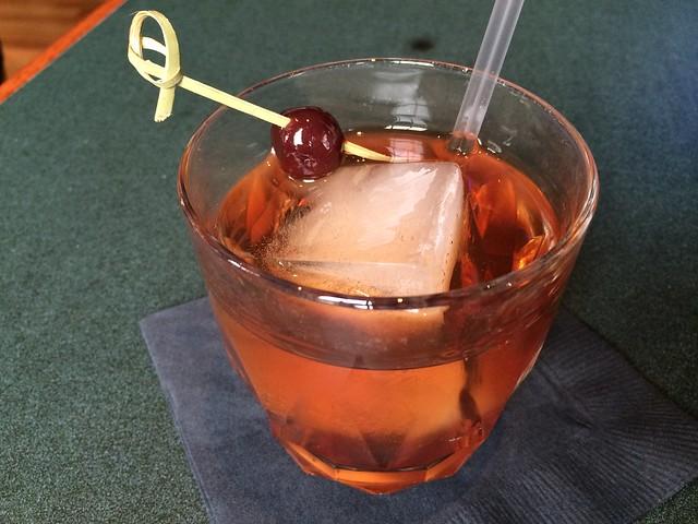 Bulleit bourbon Manhattan - Horner's Corner