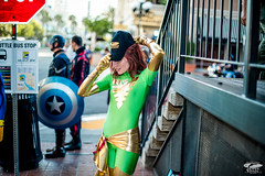 Nikon D810 Photos of PRETTY Geeks!  Comic Con Superheroes & Viking Girls @ 2014 San Diego Comic Con International! Nikon 50mm f/1.4G SIC SW Prime AF-S Nikkor Lens for Nikon Digital SLR Cameras!