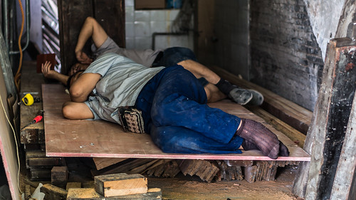 Sleeping Workers