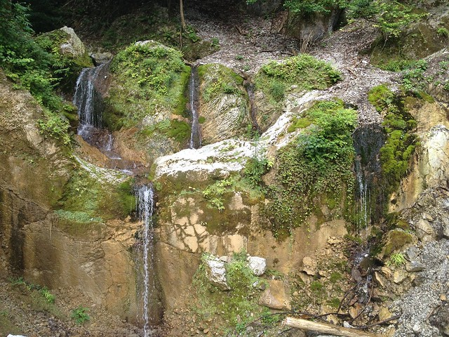 藤原岳 裏道(聖宝寺道) 滝