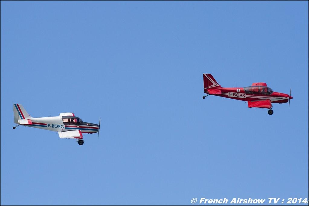 Patrouille des Mousquetaires D140, F-BOPK, Meribel Airshow 2014
