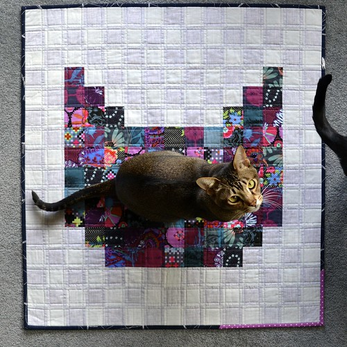 Cat quilt (big ears)