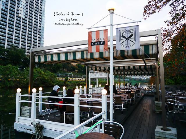 日本東京自由行賞櫻canal cafe水上餐廳 (42)