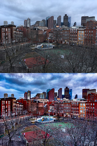 boston view skyline city massachusetts newengland park playground defillippoplayground northend iphone iphone6s shotoniphone iphoneraw processing lightroommobile snapseed clouds dramatic sky stormy colorful