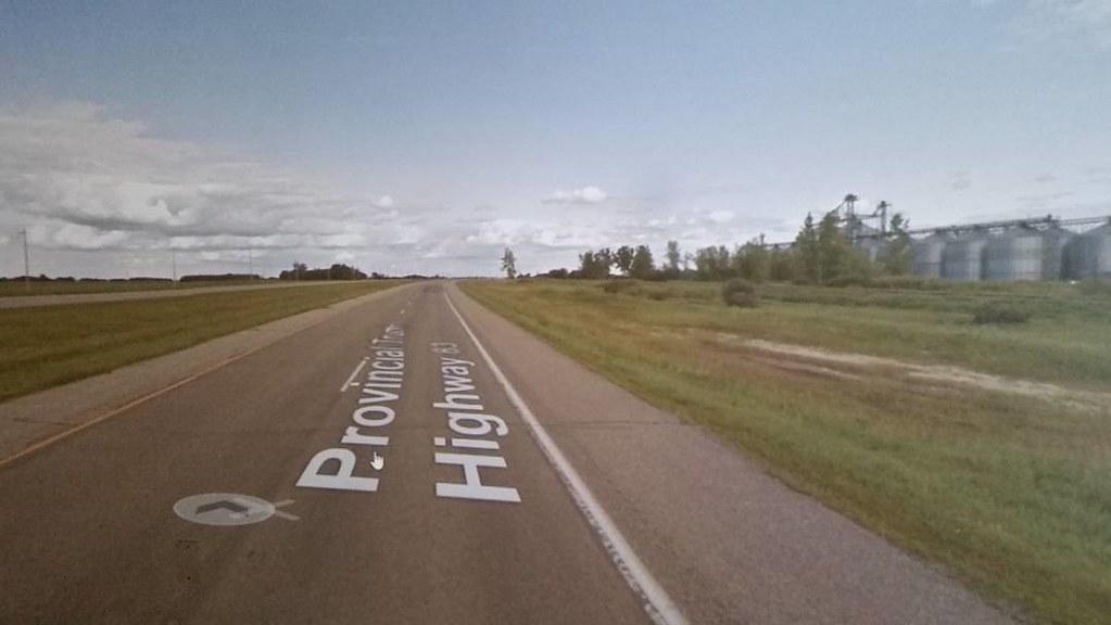 #googlestreetview virtual graffiti. #ridingthroughwalls #xcanadabikeride #Manitoba