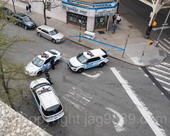 NYPD PBBX Police Cars at Yankee Stadium, The Bronx, New York City