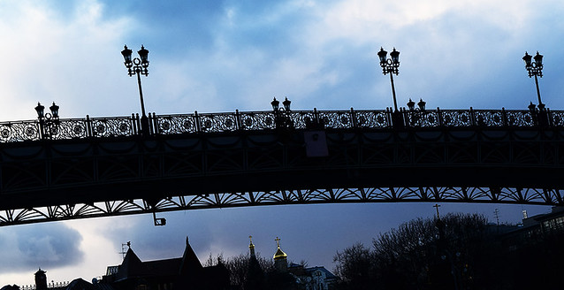 Patriarch Bridge in Moscow