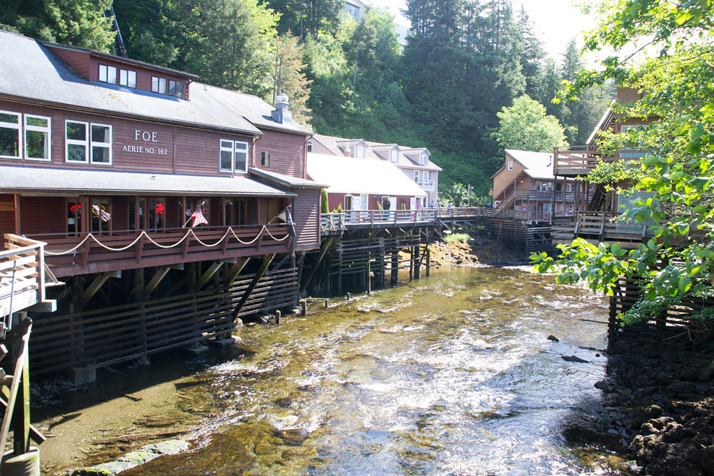 Creek Street in Ketchikan | Alaska cruise port