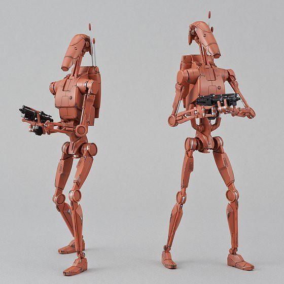 《星際大戰》組裝模型系列 –1/12 戰鬥機械兵(基歐諾西斯戰役配色版) バトル・ドロイド(ジオノーシスカラー) セット