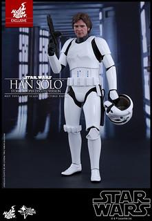 Hot Toys - MMS418 - 《星際大戰四部曲:曙光乍現》1/6 比例韓·索羅(風暴兵偽裝Ver.) Han Solo (Stormtrooper Disguise Version)