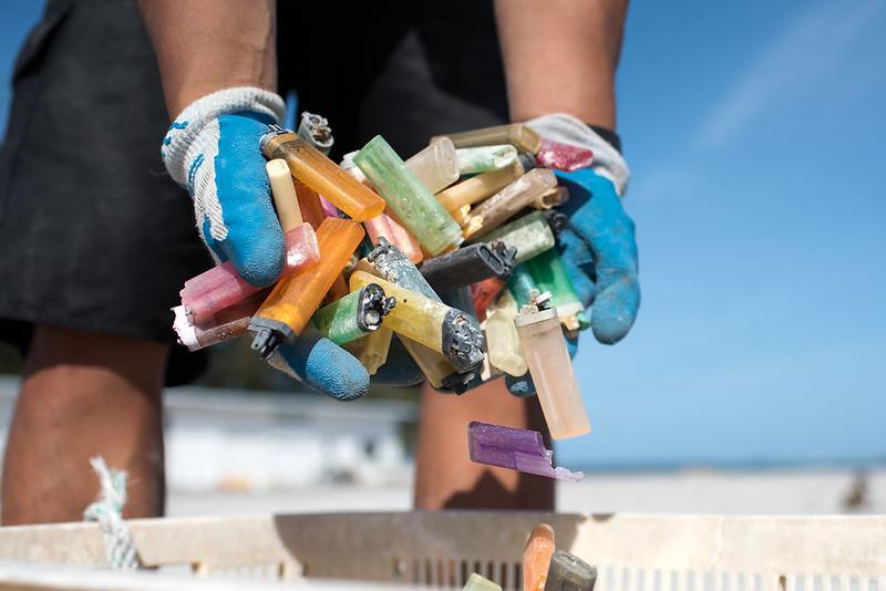 photo of plastic debris