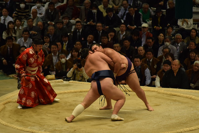 Japan Bucket List - seeing Japanese Sumo Wrestling in Osaka