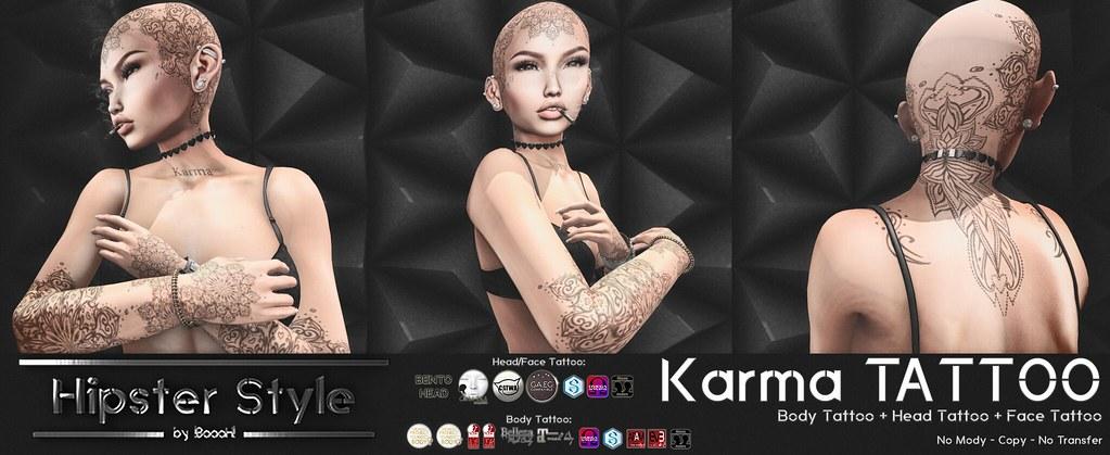 [Hipster Style] Karma TATTOO - SecondLifeHub.com