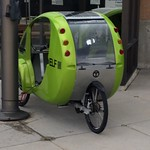 Hybrid electric bicycle from Organic Transit.