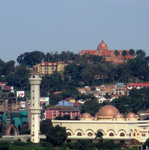 africa uganda kampala sheraton hotel islamic mosque cathedral church stpaul