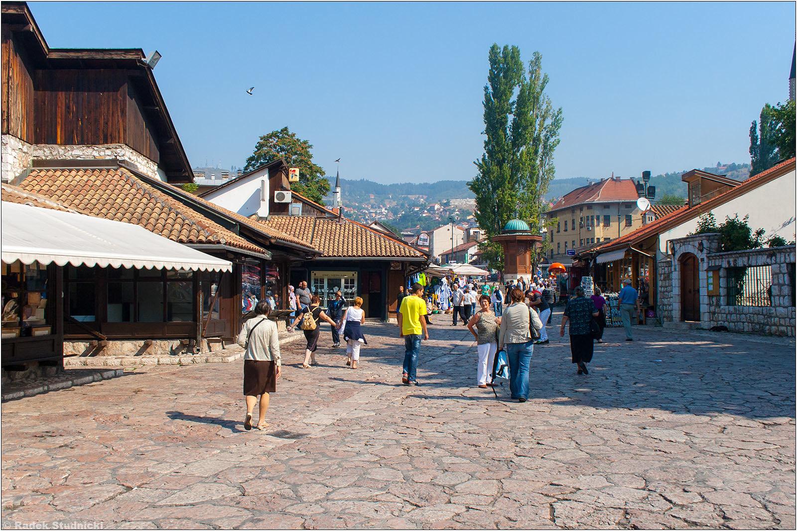 Dzielnica turecka w Sarajewie