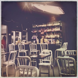Bar at Moshi Moshi in Dogpatch SF