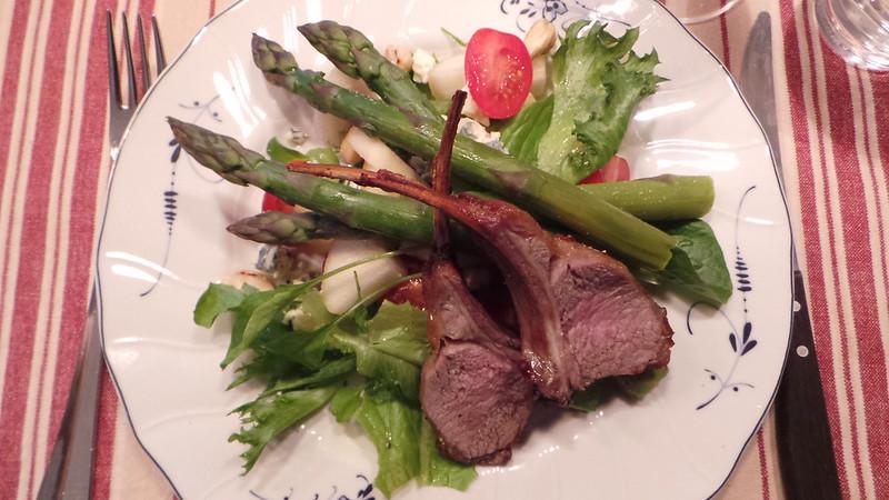 Lamb&asparagus