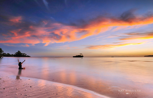 sunset beach indonesia silhuoette southsulawesi selayar nikond700 natstravers baloiya