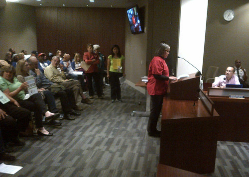 Several RNs testified on the health impacts the Chevron refinery is having on the community.