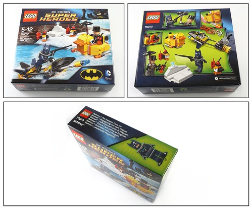 LEGO Super Heroes DC Universe 76010 Batman The Penguin Face Off box