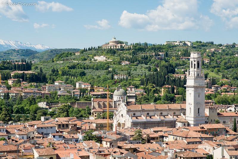 Verona seen from above