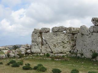 Image of Ġgantija Temples. ruins mediterranean malta neolithic gozo ggantija xaghra neolithictemple ggantijatemple